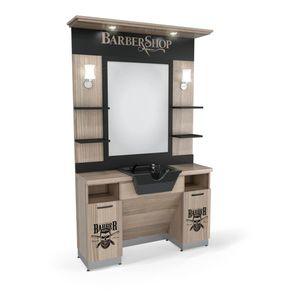 SOMPREMIUM - Barber shop furnishing- Model BT122 imagine