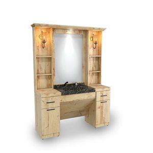 SOMPREMIUM - Barber shop furnishing- Model BT124 imagine