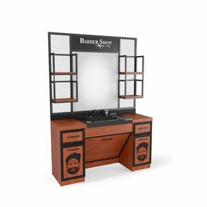 SOMPREMIUM Barber shop furnishing - Model BT127 imagine