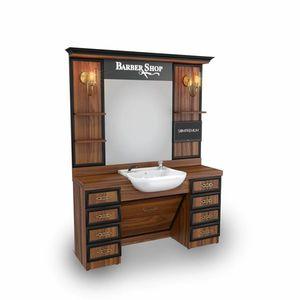 SOMPREMIUM -Barber shop furnishing - Model BT125 imagine