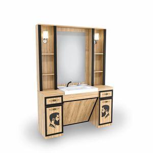 SOMPREMIUM - Barber shop furnishing- Model BT128 imagine