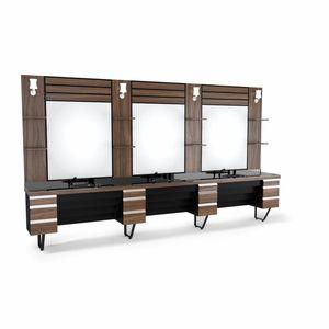 SOMPREMIUM -Barber shop furnishing - Model BT164 imagine