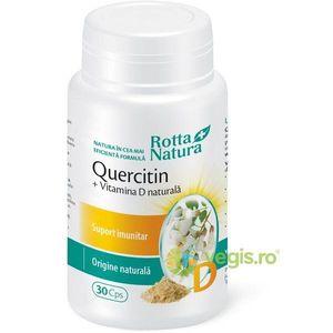Quercitin cu Vitamina D Naturala 30cps imagine