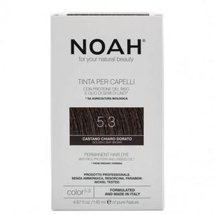 Vopsea de Par Naturala Saten Auriu Deschis 5.3 Noah imagine