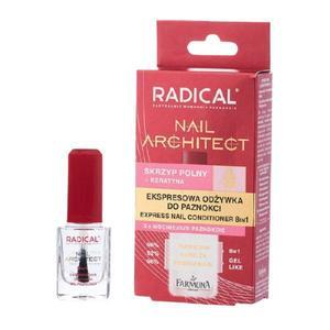 Tratament Rapid 8 in 1 pentru Unghii - Farmona Radical Nail Architect, 12 ml imagine