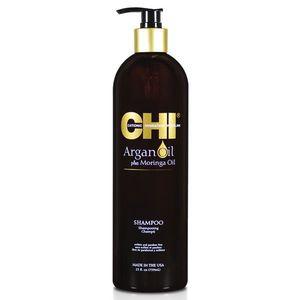 Sampon cu Ulei de Argan - CHI Farouk Argan Oil Plus Moringa Oil Shampoo 739 ml imagine