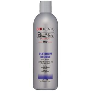 Sampon Nuantator Blond Platinat - CHI Farouk Ionic Color Illuminate Shampoo Platinum Blonde, 355 ml imagine
