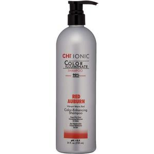 Sampon Nuantator Rosu Castaniu - CHI Farouk Ionic Color Illuminate Shampoo Red Auburn, 739 ml imagine
