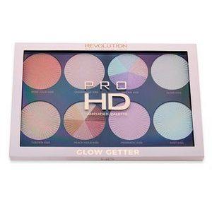Makeup Revolution Pro HD Amplified Palette Glow Getter paleta pentru fata multifunctionala 24 g imagine