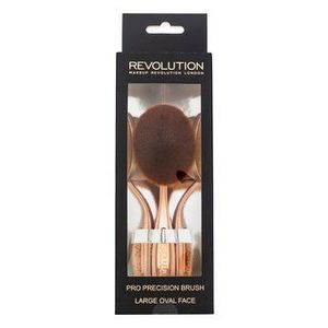 Makeup Revolution Pro Precision Brush Large Oval Face perie pentru pudra sau machiaj imagine