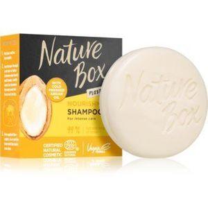 Nature Box Argan șampon solid cu efect de nutritiv imagine