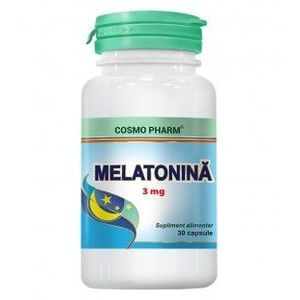 Melatonina 3 mg, 30 capsule imagine