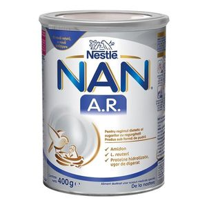 Lapte praf Nan AntiRegurgitare, 400 g, Nestle imagine