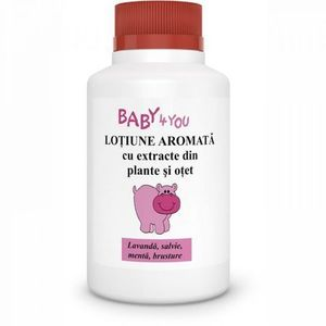 Lotiune aromata cu extracte din plante si otet Baby 4 You, 100 ml, Tis imagine
