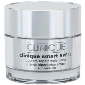 Clinique Clinique Smart™ SPF 15 Custom-Repair Moisturizer crema anti-rid hidratanta pentru ten uscat și combinat crema anti-rid hidratanta pentru ten uscat și foarte uscat pentru piele foarte uscata imagine