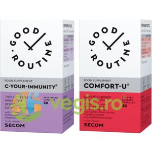 C Your Immunity 30cps vegetale + Comfort-U 30cps imagine