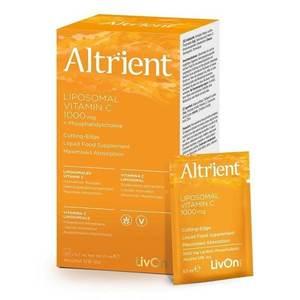 Altrient C - Vitamina C lipozomala 1000 mg LivOn Labs, 30 plicuri x 5, 7 ml, natural imagine