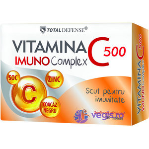 Vitamina C Imunocomplex 500mg 30tb imagine