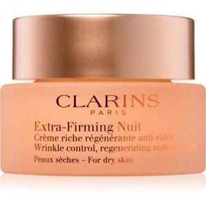 Clarins Extra-Firming Night cremă de noapte pentru fermitate și anti-ridr pentru tenul uscat imagine