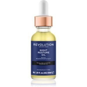 Revolution Skincare Night Restore Oil ulei hidratant iluminator imagine
