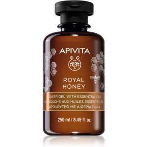Apivita Royal Honey gel de dus hidratant cu uleiuri esentiale imagine