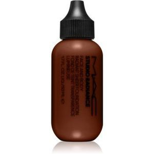 MAC Cosmetics Studio Radiance Face and Body Radiant Sheer Foundation machiaj cu acoperire ușoară pentru față și corp imagine