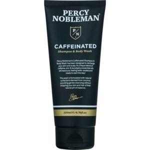 Percy Nobleman Hair sampon pe baza de cofeina pentru barbati pentru corp si par imagine