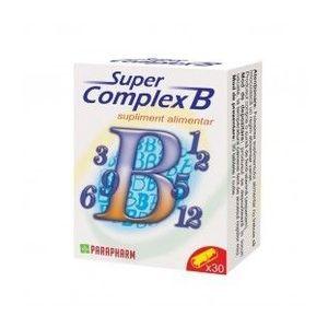 Complex B, 30 capsule imagine