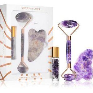 Crystallove Quartz Beauty Set Amethyst set pentru îngrijirea pielii imagine