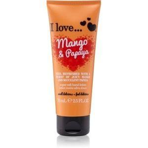 I love... Mango & Papaya crema de maini imagine