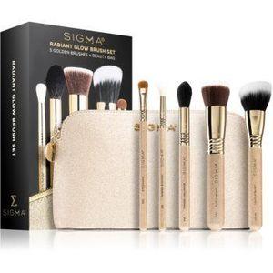 Sigma Beauty Radiant Glow Brush Set set de călătorie cu pensule imagine