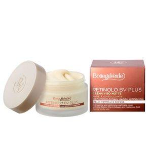 Crema anti-imbatranire de noapte, ideala pentru ten normal si uscat, cu Pro-Retinol, colagen vegetal, acid hialuronic, extract de ginseng si vitaminele E si F imagine