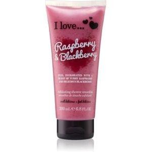 I love... Raspberry & Blackberry gel de dus exfoliant imagine