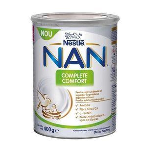 Nan Complete Confort Formula de lapte +0 luni, 400g, Nestle imagine