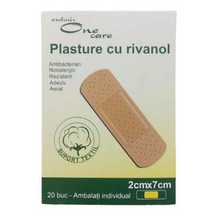 Plasturi cu Rivanol One Care, 2 cm x 7 cm, 20 buc imagine