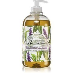 Nesti Dante Romantica Wild Tuscan Lavender and Verbena sapun lichid delicat pentru maini imagine