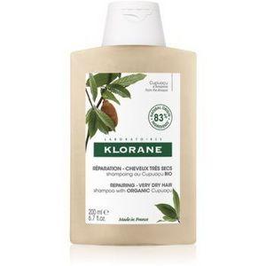 Klorane Cupuaçu Bio Bio sampon hranitor pentru păr uscat și deteriorat imagine