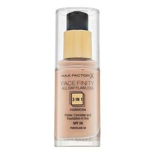 Max Factor Facefinity All Day Flawless Flexi-Hold 3in1 Primer Concealer Foundation SPF20 30 fond de ten lichid 30 ml imagine