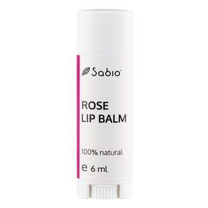 Balsam de buze cu geranium rose, 6ml, Sabio imagine