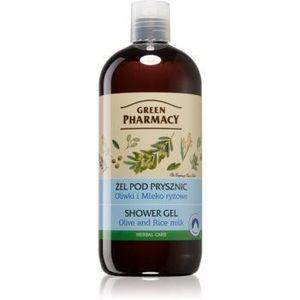 Green Pharmacy Body Care Olive & Rice Milk gel de duș imagine