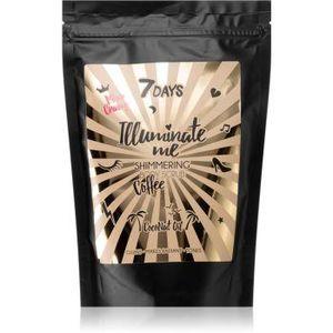 7DAYS ILLUMINATE ME Miss Crazy exfoliant de corp, cu cafea imagine