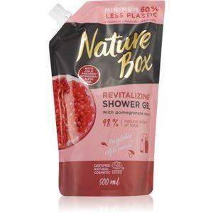 Nature Box Pomegranate gel de dus energizant rezervă imagine