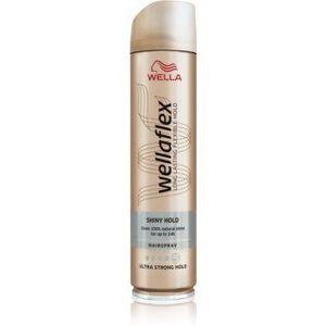 Wella Wellaflex Shiny Hold fixativ pentru păr cu fixare foarte puternică pentru stralucire imagine