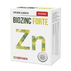 Biozinc Forte 30cps Parapharm imagine