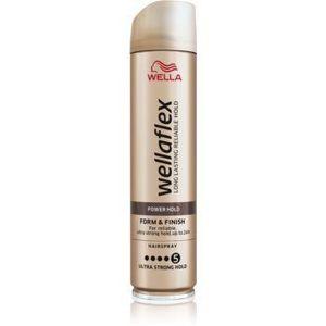 Wella Wellaflex Power Hold Form & Finish fixativ pentru păr cu fixare foarte puternică pentru o fixare naturala imagine