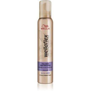 Wella Wellaflex Fullness For Thin Hair spuma cu fixare foarte puternica imagine