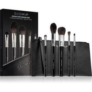 Sigma Beauty Signature Brush Set set de pensule cu geantă imagine