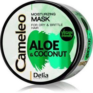 Delia Cosmetics Cameleo Aloe & Coconut masca hidratanta pentru par uscat si fragil imagine
