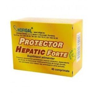 Protector hepatic forte, 40 comprimate imagine