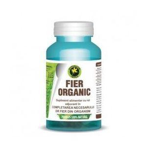 Fier Organic 230 mg, 60 capsule imagine